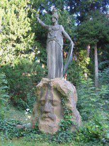 Pallas Athene ~ Brunnen von Karl Donndorf (1911)