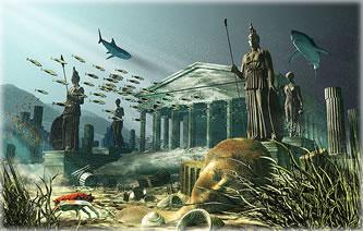Atlantis by Kenn Brown