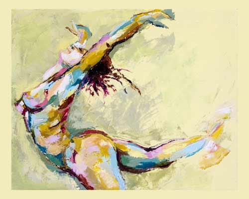 Annett Bank Yellow Dancer