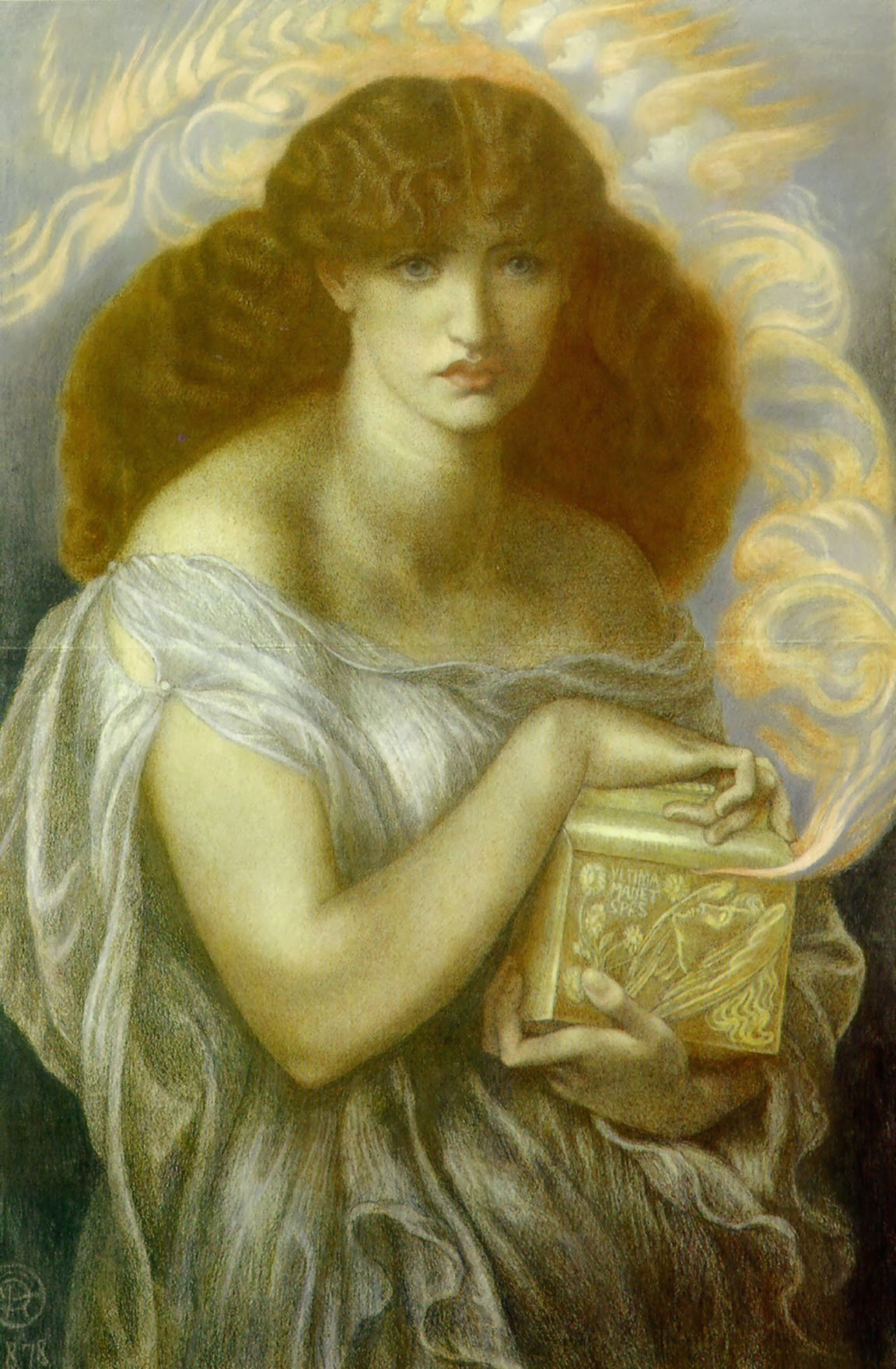 Pandora by Rossetti